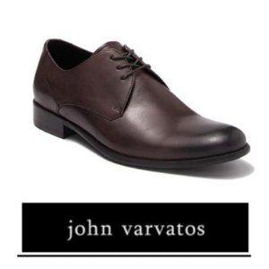 John Varvatos Star USA Brown Leather Derby Sz 11
